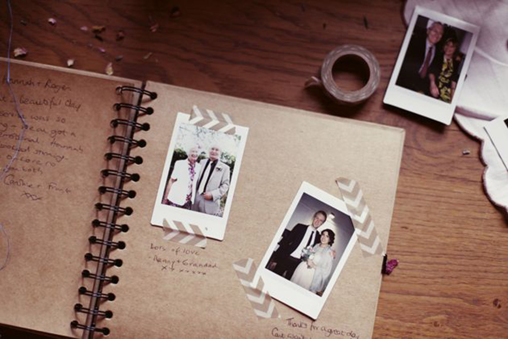 Awesome Polaroid Guest Book Wedding Contemporary - Styles & Ideas ...