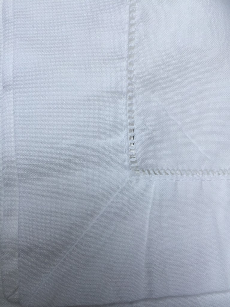 irish linen hemstitch napkin