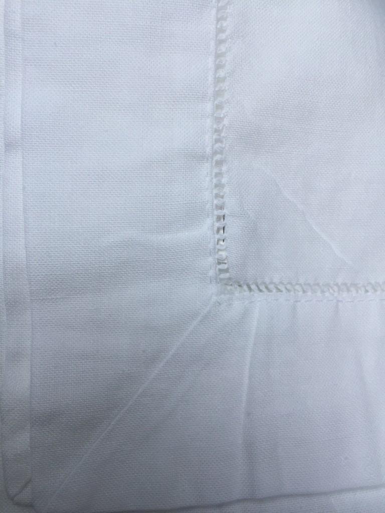 irish linen hemstitch napkin