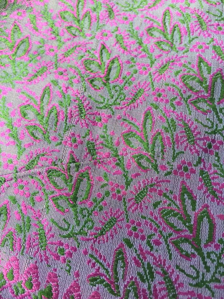morrocan silk pillow