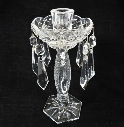 pair-of-waterford-crystal-tara-candlesticks-w-bobeche-dangling-prisms-523d8b90ff7ea74800d3e99a02cb34eb