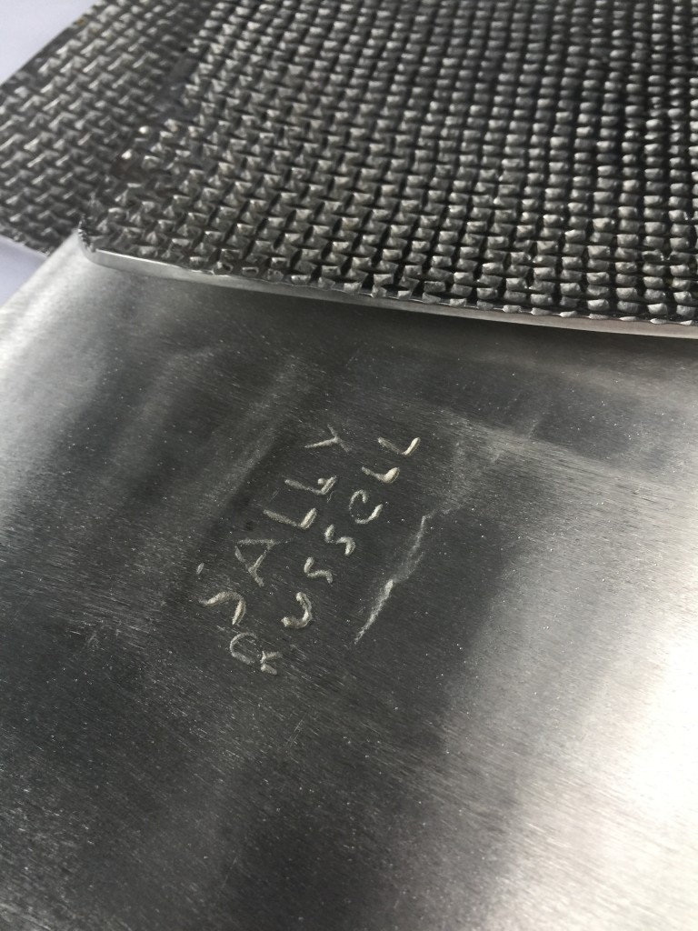 sally russel silver plates